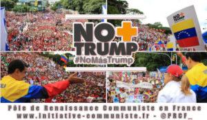 Le peuple du Venezuela mobilisé en masse contre le blocus US. Une pétition auprès de l'ONU lancée. #NoMoreTrump