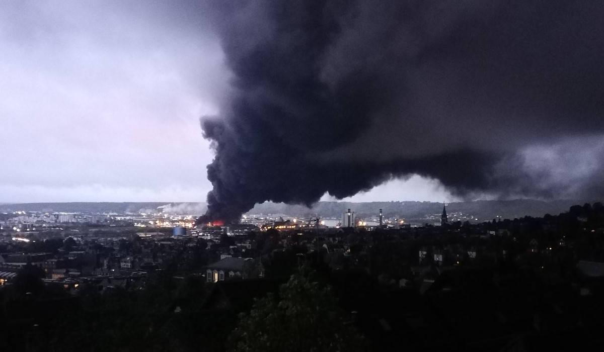 lubrizol de la catastrophe industrielle  la catastrophe
