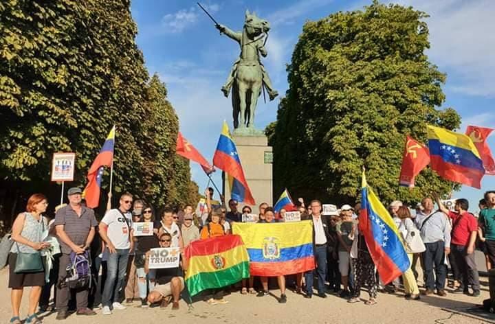 Le PRCF dans la mobilisation pour soutenir le Venezuela sous blocus des USA !