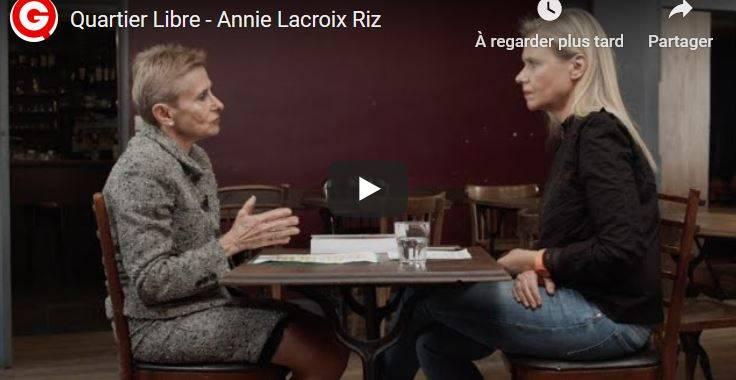 La non-épuration : Annie Lacroix-Riz répond aux questions d'Aude Lancelin #vidéo