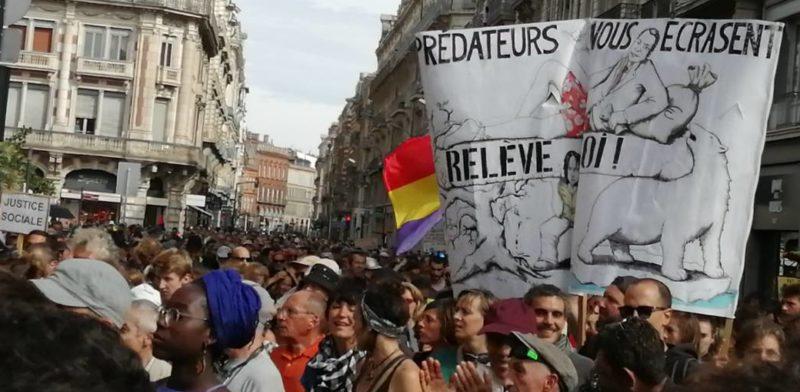 POUR QUE LE CLIMAT DE LA TERRE REFROIDISSE, IL FAUT QUE LE CLIMAT SOCIAL S'ECHAUFFE ! #MarcheClimat #Acte45