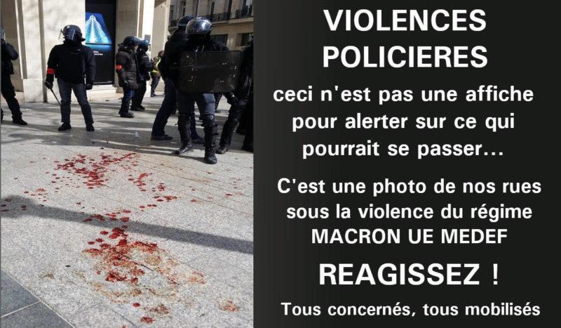 #GiletsJaunes : La Répression En Marche…  #Acte49