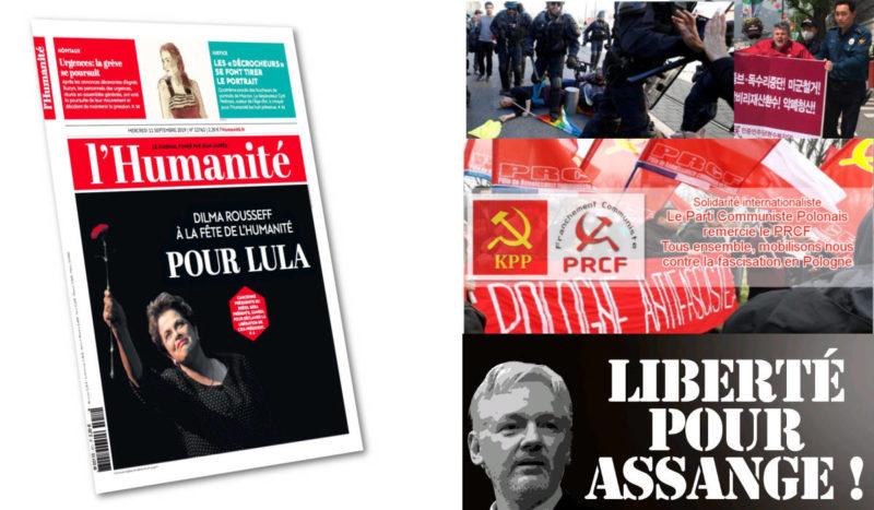 Pologne, Ukraine, Brésil… la solidarité antifasciste et contre l'anticommunisme doit être au cœur de la fête de l'Humanité 2019.