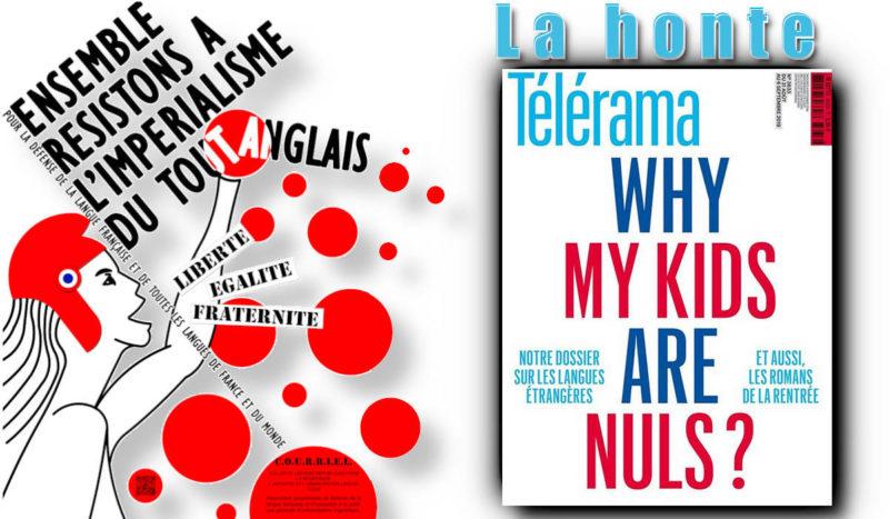 Telerama ou la servitude volontaire pour détruire la diversité linguistique !
