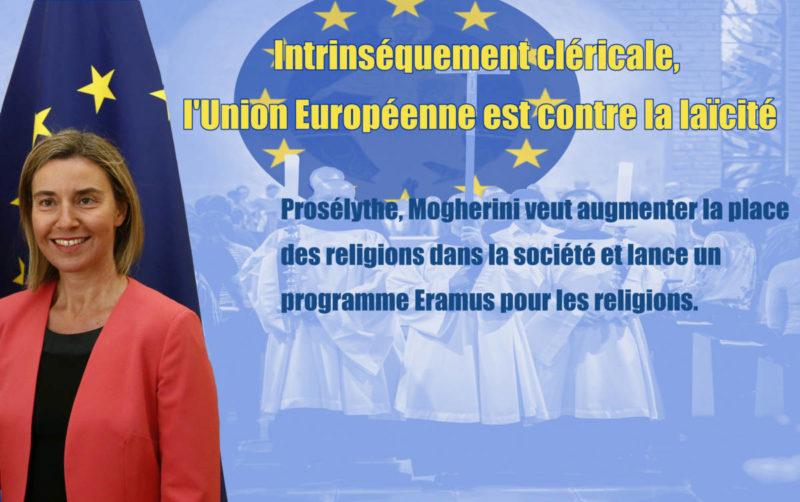 Cléricale, l'Union Européenne lance un… Erasmus de la religion !