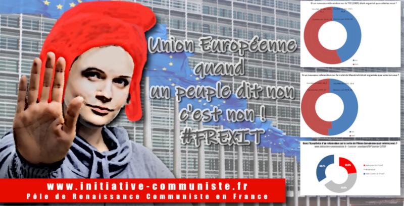 Si les français pouvaient (re)voter, ils n'entreraient pas dans l'Union Européenne ou en sortiraient #Frexit