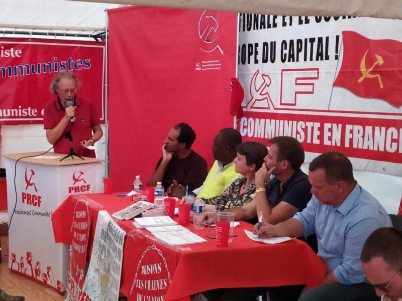 International, luttes, syndicalisme, politique, socialisme…Retrouvez et partagez l'intégralité des débats sur le stand du PRCF à la fête de l'Huma 2019.