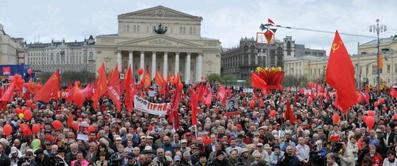 Russie : le Parti Communiste en forte progression aux élections locales, première force d'opposition à Poutine !