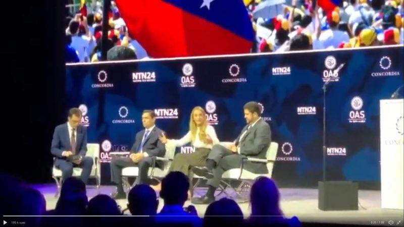 « Venezuela, le coup d'Etat manqué » documentaire d'Ahmed Kaballo (2019) .