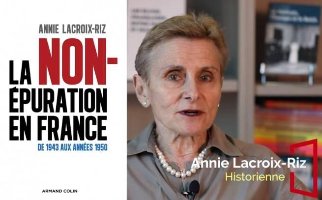"""Son essai """"La Non-épuration en France """" sélectionné pour le prix Renaudot 2020 : entretien avec Annie Lacroix-Riz."""