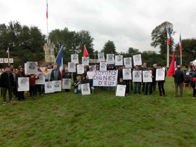 20 octobre 2019 : hommage aux 27 fusillés de Châteaubriant