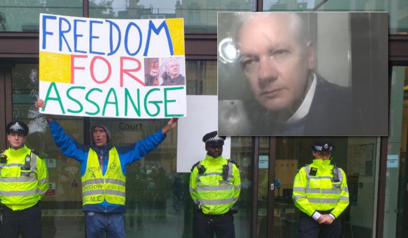 Pour défendre Assange, envoyez vos dons… aux États-Unis !