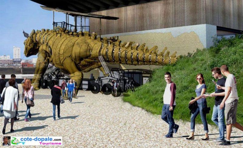 Calais : un dragon qui enterre la Culture. Analyse d'une anti politique culturelle.