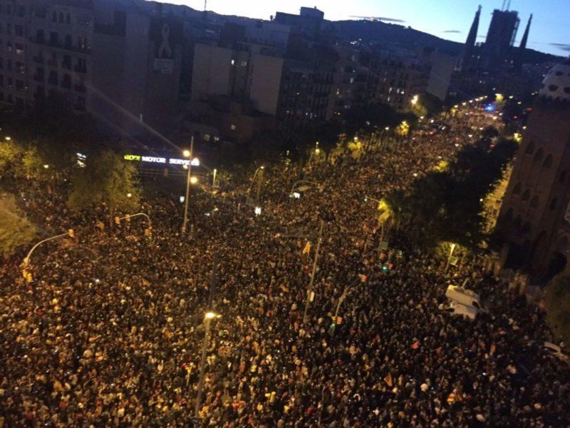 Stop à la répression euro-franquiste qui frappe en Catalogne !