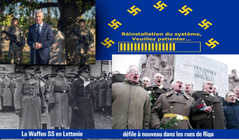 Quand la Lettonie avec le soutien de l'UE fait l'apologie de la Waffen SS…