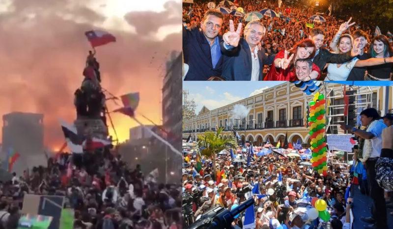 Affrontements de classes en Amérique latine et ailleurs : contre le Capital et l'Impérialisme, pour le camp du travail et des peuples en luttes.