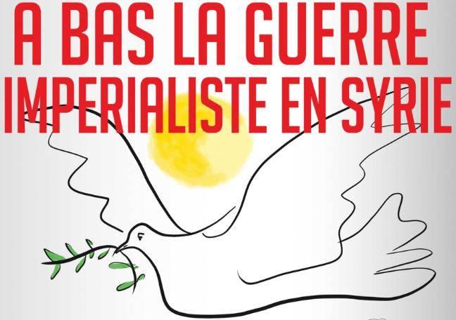 Fichez la paix à la Syrie