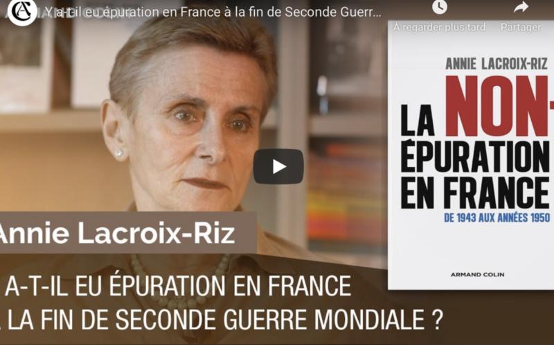 Droit de réponse à Gilles Morin et ses appels à la censure : Annie Lacroix-Riz rétablit les faits !