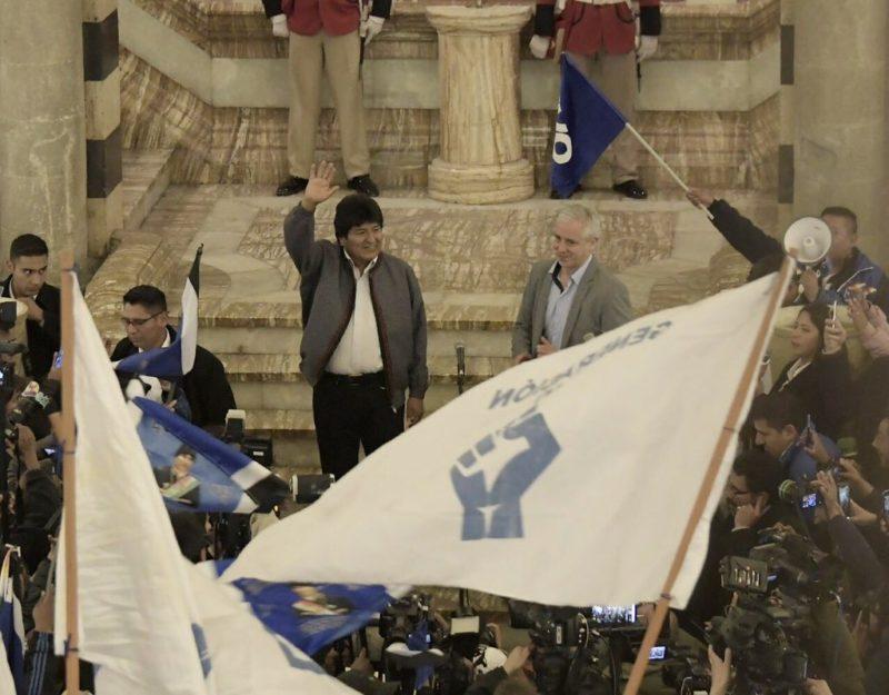Bolivie : Evo Morales en passe d'être réélu dès le premier tour.