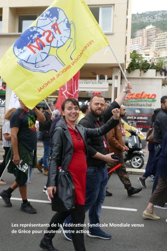 Monaco, avec l'USM, les travailleurs mobilisés pour les salaires contre la régression sociale !