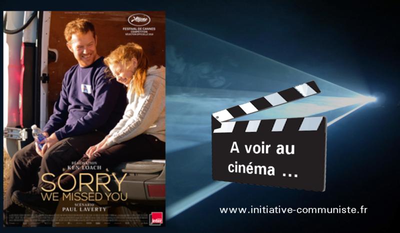 Cinéma : a voir absolument, Sorry we missed you, le dernier Ken Loach.
