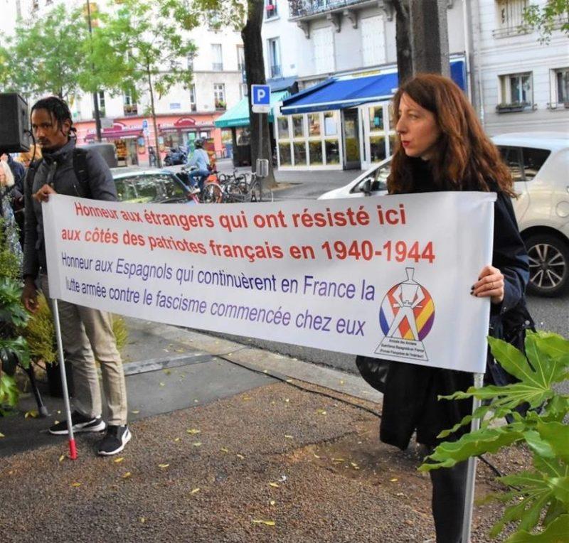 Hommage à Neus Català et Domingo Tejero Pérez militants communistes, républicains espagnols, résistants.