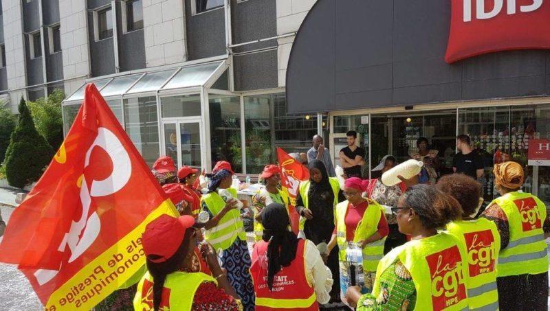 7 octobre, rassemblement de soutien aux grévistes de l'Hotel Ibis Batignolles – 12h Paris 17e