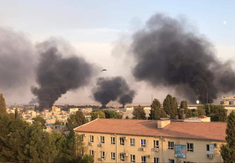 La Turquie attaque la Syrie et bombarde les Kurdes !