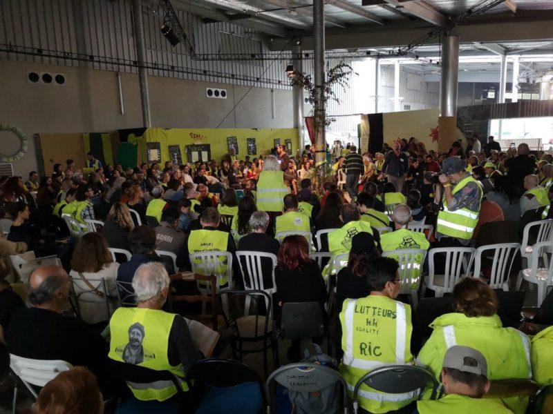 Les Gilets Jaunes votent pour la grève générale du 5 décembre 2019