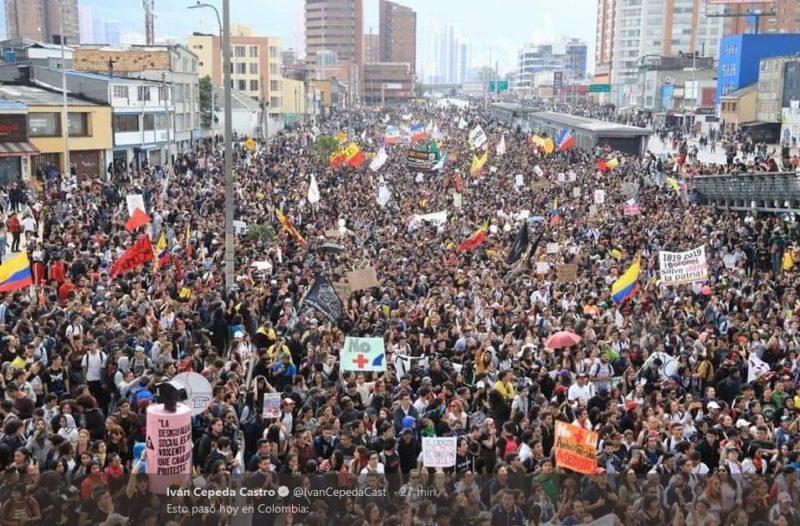 Grève générale en Colombie : déferlante populaire contre le régime Duque !