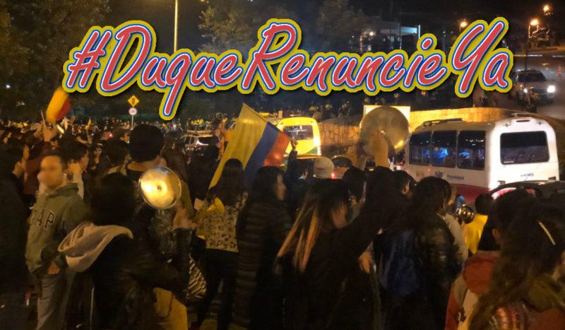 9 raisons d'une grève générale en Colombie .