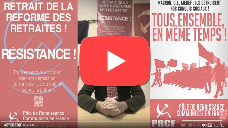 Pourquoi faut il tous faire grève à partir du 5 décembre #vidéo #Réformedesretraites #Grève5décembre