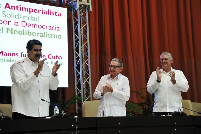 """""""Le premier ennemi à renverser est le mensonge et plus encore le mensonge impérialiste"""" Diaz Canel à la Rencontre internationale anti impérialiste de solidarité, pour la démocratie et contre le néolibéralisme."""