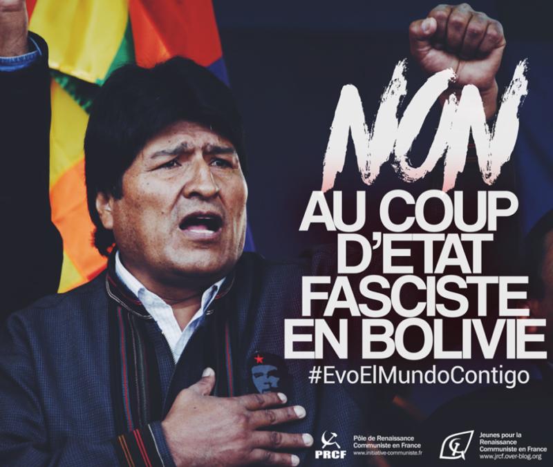 Bolivie : le MAS largement en tête des sondages, la dictature interdit la candidature de Evo Morales #golpedeestadoenbolivia #elmundoconevo