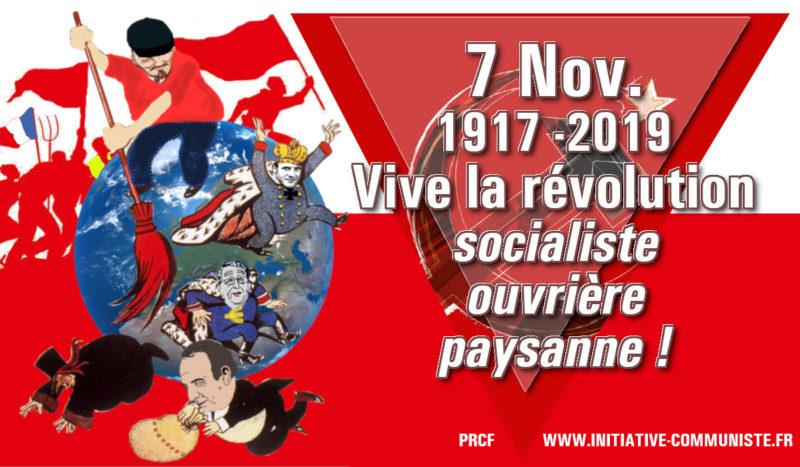 le 7 novembre, l'anniversaire et l'appel de la #Révolution Dossier spécial