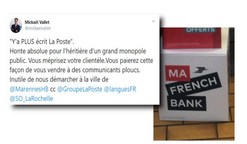 Un maire sanctionne la Poste et Orange, entreprises abusant des anglicismes ! …