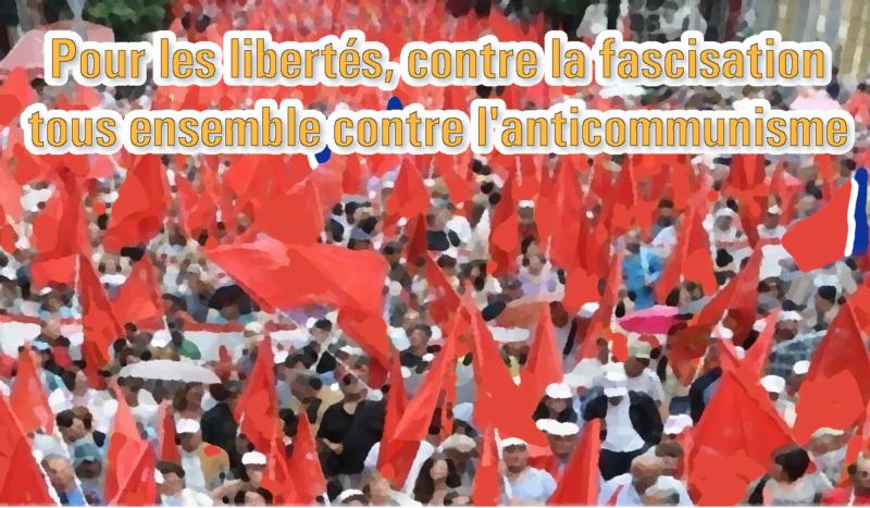 9 novembre : Rassemblement contre la résolution de l'UE sur le totalitarisme – appel des JRCF