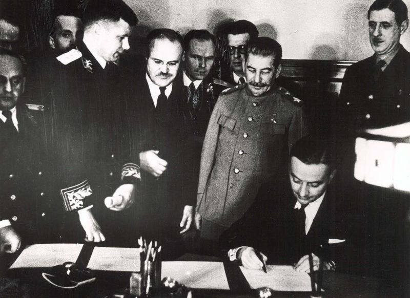 Il y a 75 ans la signature du pacte franco-soviétique !
