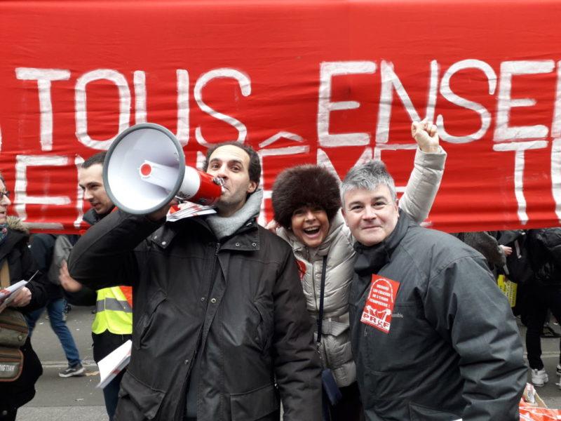En décembre, c'est tous ensemble pour les retraites face aux contre-réformes de MACRON-UE-MEDEF !