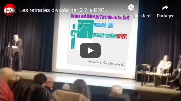 Jean-Paul Delevoye chahuté par le PRCF ! #vidéo #réformedesretraites #grève5décembre