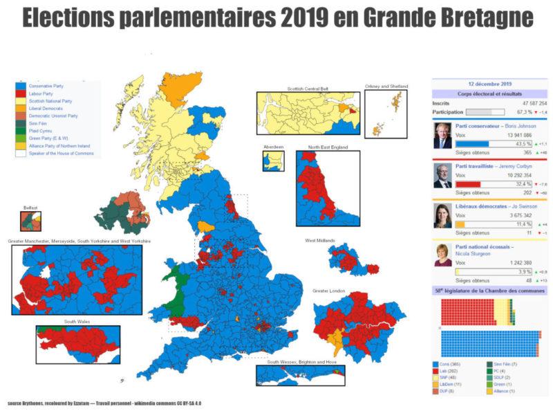 Grand bond en avant des conservateurs, déculottée des travaillistes : les leçons françaises des législatives britanniques #Brexit