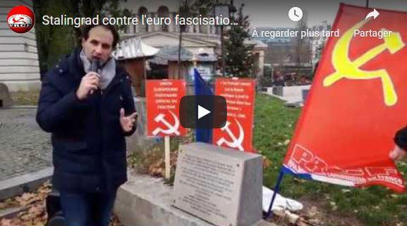 À Stalingrad, l'appel contre l'euro-fascisation et la résistance contre la destruction des conquêtes sociales et démocratiques #vidéo