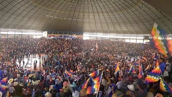 Bolivie : le MAS et Evo Morales tiennent congrès et appellent à la résistance !