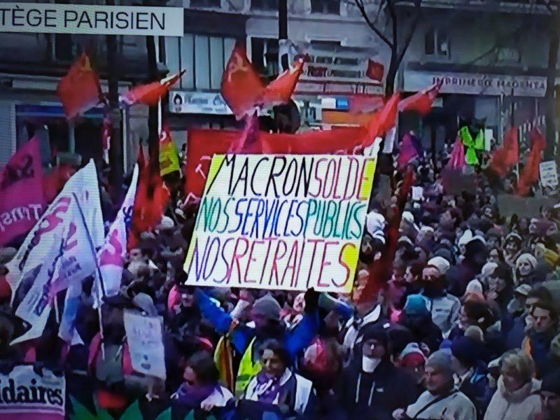 Mobilisation historique ! Décembre 2019 plus haut que 1995 ! Les chiffres #Grèvedu5Décembre #GrèveGénérale