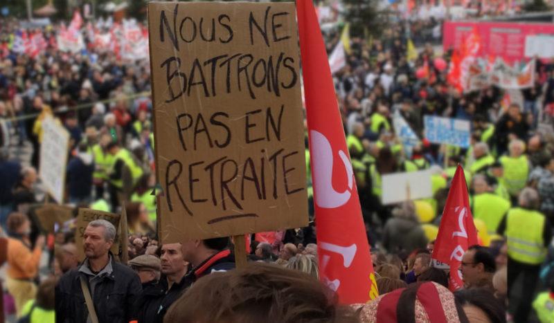 #Retraites : grève reconductible, manifestations ce samedi 7 puis #GrèveGénérale mardi 10 décembre ! #acte56