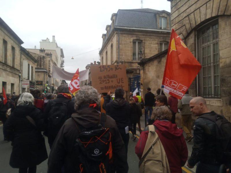 « Face à Macron et à l'Union Européenne, exigeons la retraite à 60 ans ! », par Ramzi Kebaïli #réformedesretraites #grève20février