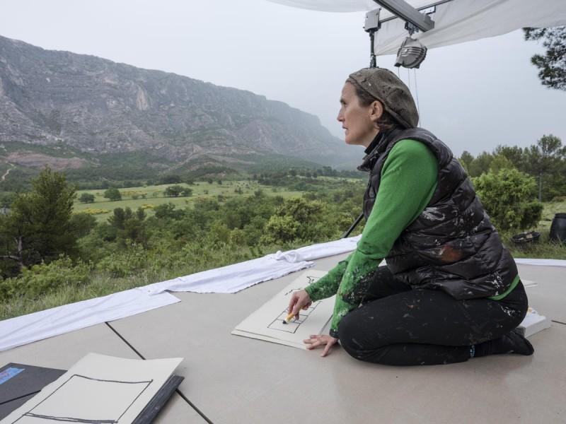 Expo : Sortie en pleine peinture – Fabienne Verdier