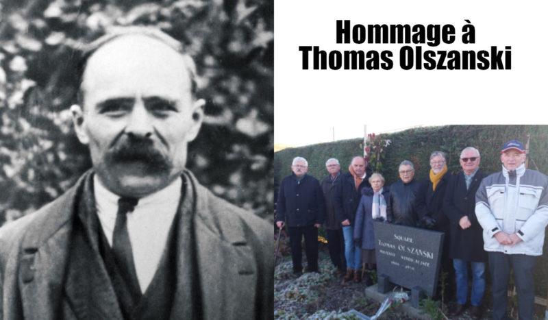 Le Nord rend hommage au syndicaliste Thomas Olszanski !
