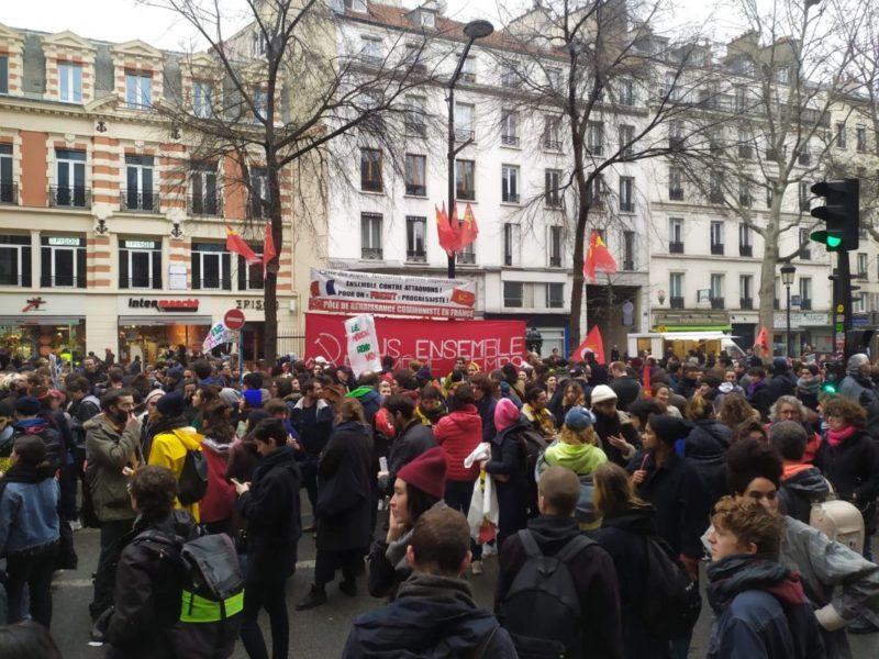 Retour sur le succès de la mobilisation du 9 janvier, les militants du PRCF présents partout en France #reportage #photos