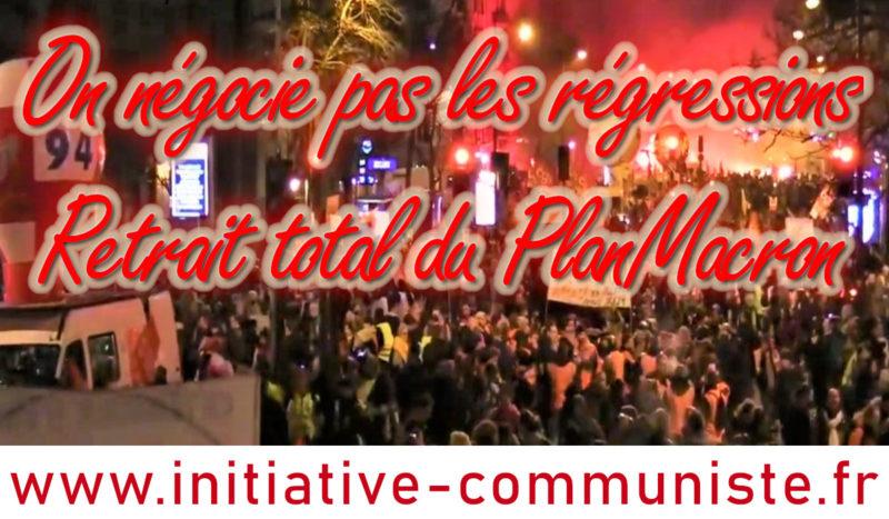 #greve16janvier forte mobilisation et soutien de l'opinion au retrait de la #réformedesretraites